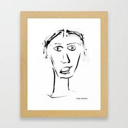 Emily Dickinson Framed Art Print