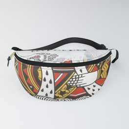 King of Hearts Fanny Pack