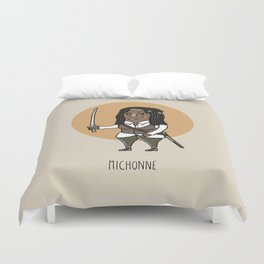 Michonne Duvet Cover