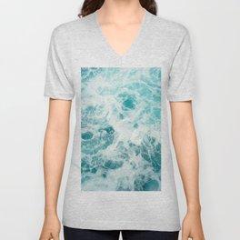 Ocean Sea Waves Unisex V-Neck