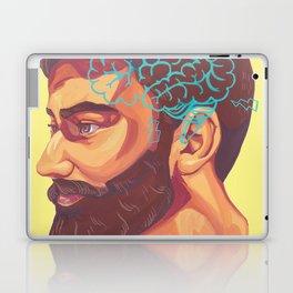 Beard Laptop & iPad Skin