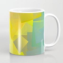 Cubism Abstract 205 Coffee Mug