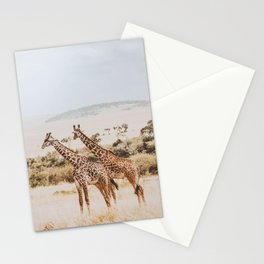 African Safari II Stationery Cards