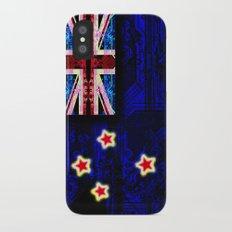 circuit board new zealand (flag) iPhone X Slim Case