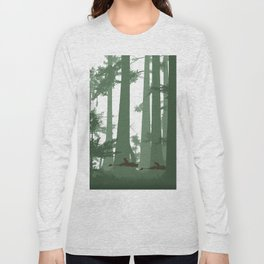 The Battle of Endor - The Tortoise & the Hare Long Sleeve T-shirt