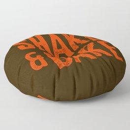 Shake and Bake Floor Pillow