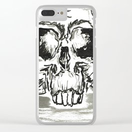 Skulls Clear iPhone Case