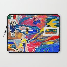 The power in unstable balance Laptop Sleeve