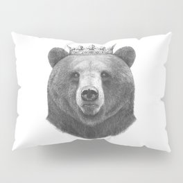 King bear Pillow Sham