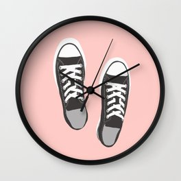 my fave shoes Wall Clock
