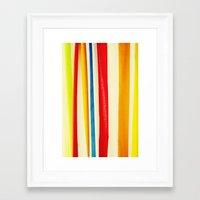 martini Framed Art Prints featuring Martini by Arwan Mauriattama