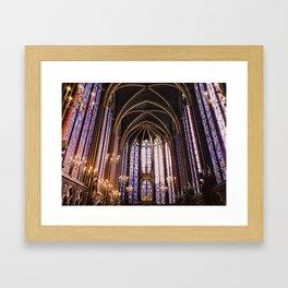 Sainte Chappelle Framed Art Print