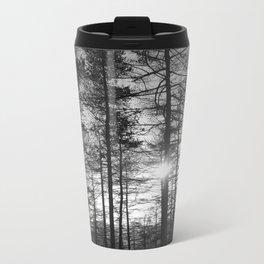 Winter Pine Forest 1 Metal Travel Mug
