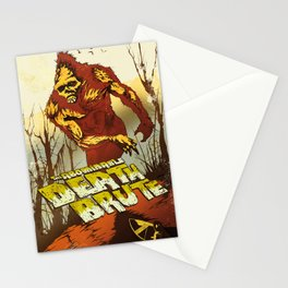 The Abominable Deathbrute Stationery Cards