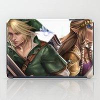 the legend of zelda iPad Cases featuring Legend of Zelda by KlsteeleArt