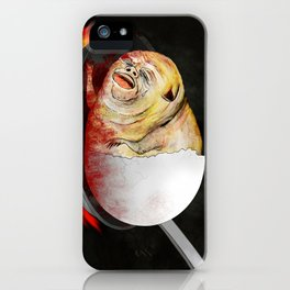 Burning in Egony iPhone Case