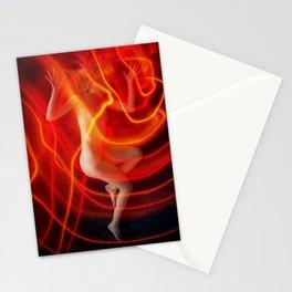 Cozmogonizm Series #05, Color Film, Analog, Art Photo, NUDE Stationery Cards