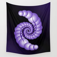 hook Wall Tapestries featuring Julia's Hook by artsytoocreations