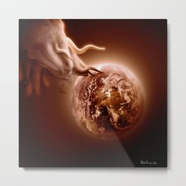 The end of the world Metal Print