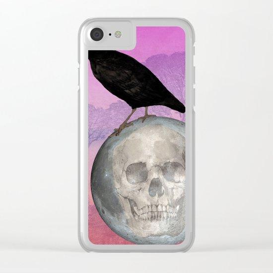 'Sit on my finger, sing in my ear, O littleblood.' Clear iPhone Case
