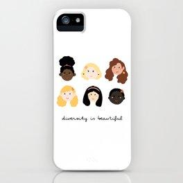 Women in Diversity iPhone Case