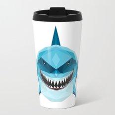 S is for Shark Travel Mug