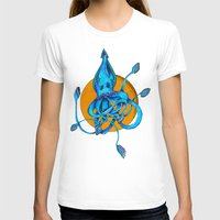 squid T-shirts featuring Squid by Ruth Wels