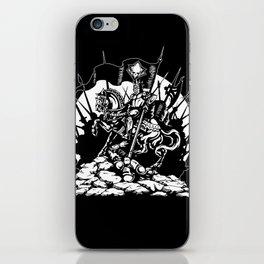 Conqueror iPhone Skin
