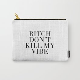 Printable Art,Good Vibes Only,Positive Vibes Only,Girls Room Decor,Quote Prints,Wall Art,Fashion Carry-All Pouch