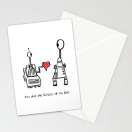 You Are the Circuit of My Life Stationery Cards
