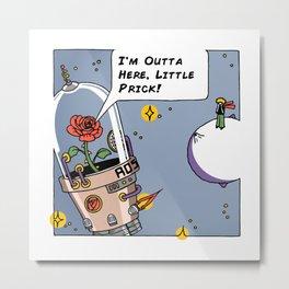 Le Petit Prick Metal Print