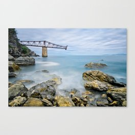 The loading bay Canvas Print