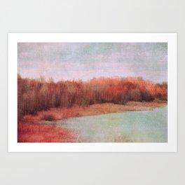 wild red Art Print