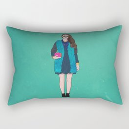 Touch of Pink Rectangular Pillow