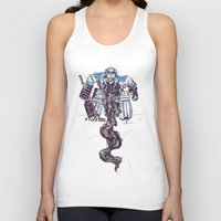 religious Tank Tops featuring Playoff Beards by Dushan Milic