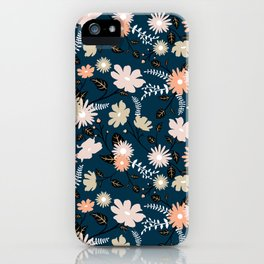 Marseille - Floral Pattern iPhone Case