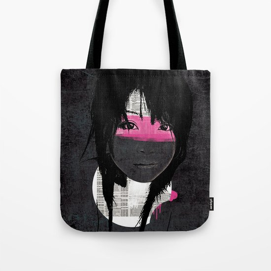 Pink Phone Tote Bag