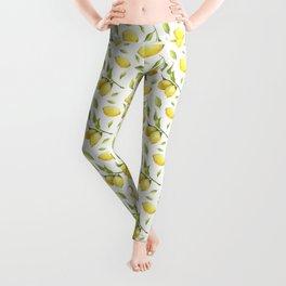 Lemon pattern Leggings