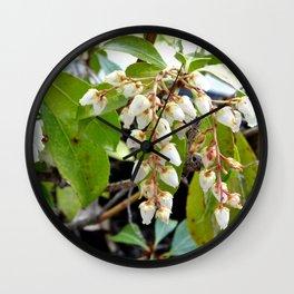Mountain Fire Pierie Wall Clock