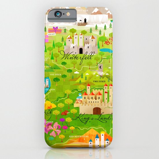 A Map of Ice and Fire iPhone & iPod Case