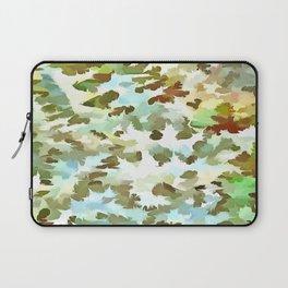 Dusty Miller Abstract Pop Art Laptop Sleeve