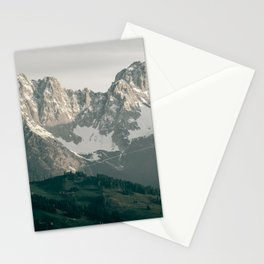 Mountain Peaks in Summer | Landscape Photography Alps | Print Art Stationery Cards