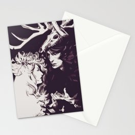 Old Forest Gods - NBC Hannibal Bedelia Stationery Cards
