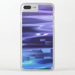 Glytch 16 Clear iPhone Case