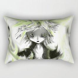 Necroette Unleashed Rectangular Pillow