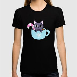 Winter Cocoa Cat T-shirt
