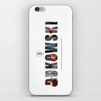 bukowski iPhone & iPod Skins featuring BUKOWSKI by Tano Veron