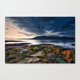 Upcoming storm at ireland Canvas Print