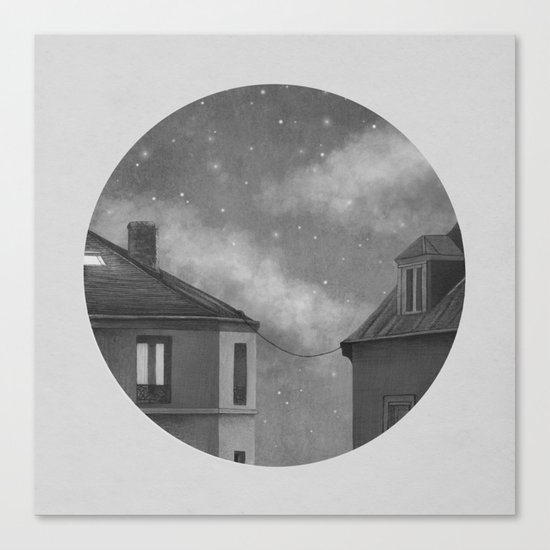 Rooftoppers - Chapter 17  Canvas Print
