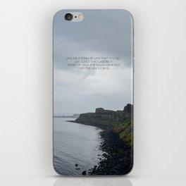 Skye Boat Song iPhone Skin